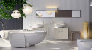 Xu hướng biến phòng tắm thành thiên đường nghỉ dưỡng